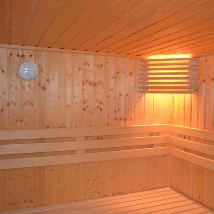 Sauna für den Stressabbau
