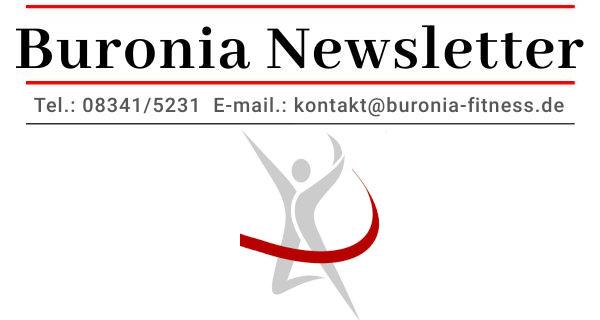 Aktueller Buronia Newsletter - newsletter header